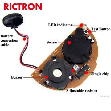 Battery Operate Smoke Detector RCS420